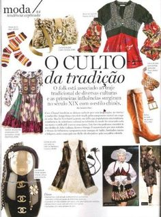 Odd Molly printed silk dress in Lux Woman Portugal, January 2010