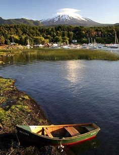 Pictures From Chile | Pucon is a beautiful lakseside resort in Chile.