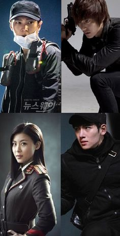 Find out who you would be in a K-drama action thriller!