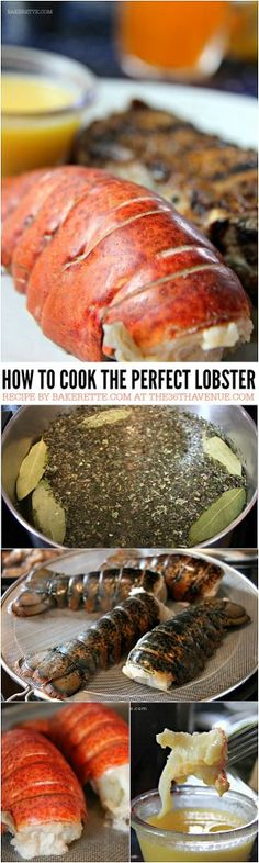 How to Make Perfectly Succulent Lobster Tail