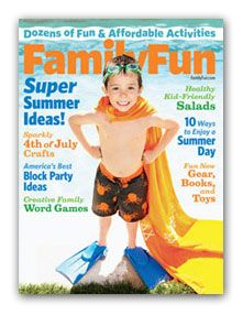 Family Fun Magazine, Only $3.99 per Year