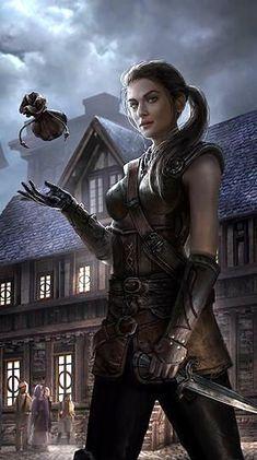 Pin by rowan gate on fantasy artwork - fantasy artwork magic in 2019 Fantasy Girl, Fantasy Warrior, Fantasy Rpg, Medieval Fantasy, Fantasy Artwork, Dark Fantasy, Fantasy Women, Elves Fantasy, Warrior Queen