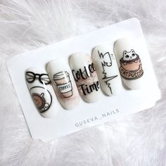 Semi-permanent varnish, false nails, patches: which manicure to choose? - My Nails Love Nails, Pretty Nails, My Nails, Nail Art Designs, Nail Art Halloween, American Nails, Cute Acrylic Nails, Manicure And Pedicure, Christmas Nails