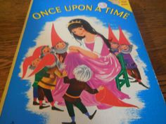 RARE 1970s Once upon A Time Snow White Fairy by westernartifacts