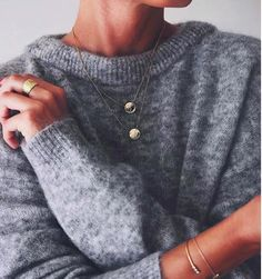 Les Jumelles - Shop now - NIEUW - NIEUW - Grey Mohair Sweater