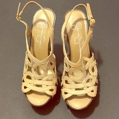 Jessica Simpson size 6 heels Gently used heels, worn once. Really great shape. Women's Jessica Simpson heels size 6. Jessica Simpson Shoes Heels