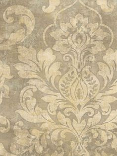 Interior Place - Dark Beige Plaster Damask Wallpaper, $29.99 (http://www.interiorplace.com/dark-beige-plaster-damask-wallpaper/)