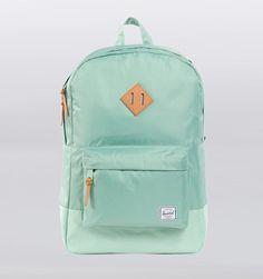 """Herschel Heritage Ripstop 15"""" Laptop Backpack - Glacier Green"""