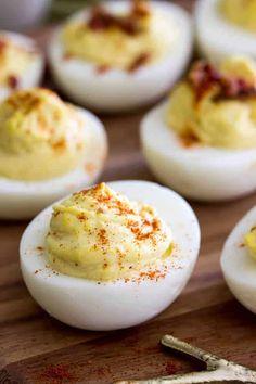 Million Dollar Deviled Eggs! The BEST Deviled Eggs made with a secret ingredient!! #deviledeggs #easterrecipe
