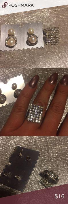 Fashion jewelry lot Ring & earrings lot Jewelry Earrings