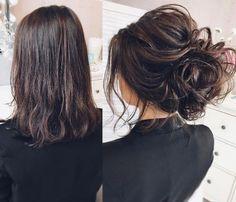 Featured Hairstyle: tonyastylist (Tonya Pushkareva) instagram.com/tonyastylist; Wedding hairstyle idea. #weddinghairstyles