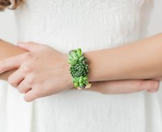 This Florist Makes Beautiful Living Jewerly (No Watering Required)