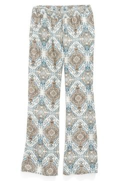 O'Neill 'Elsey' Medallion Print Pants (Little Girls & Big Girls) available at #Nordstrom