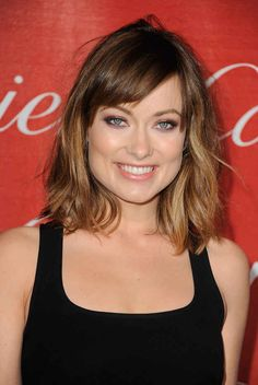 Olivia Wilde | 31 Celebrity Haircuts That Might Tempt You Into Getting Bangs