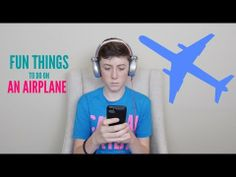 Fun Things To Do On An Airplane - YouTube