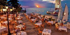 The Restaurants at Sandals Montego Bay Resort in Montego Bay, Jamaica