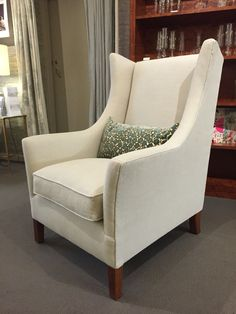 Our new High Back Moray chair. Wingback Chair, Armchair, Upholstered Furniture, Furniture Collection, Accent Chairs, Lounge, Couch, Home Decor, Chair