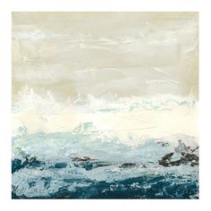 Coastal Currents I Canvas Option to buy from La Grolla. I can get you a price on La Grolla pieces. For entry over console table or inside nook in entrance