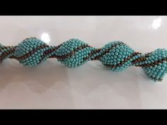 Drop model necklace making (How to do prison work) - DIY Schmuck Beading Patterns Free, Seed Bead Patterns, Beaded Jewelry Patterns, Seed Bead Tutorials, Jewelry Making Tutorials, Beading Tutorials, Beaded Bracelets Tutorial, Netted Bracelet, Bead Crochet Rope
