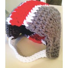 Gift Guide, Ages 0 to 2: Hand-knit beanies from Blankets and Booties come in an array of adorable designs. #holidays #gifts #osu #ohiostate