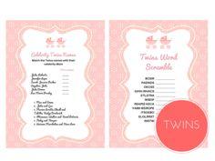 Twins Word Scramble Game, Celebrity Twins Names, TwinS, Twin Girls, Baby Words Scramble, Celebrity Baby Names, Twins Names, twn01, rat01