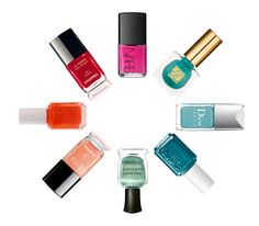 Belle Belle Beauty's favorite Spring nail polishes
