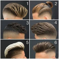 ― Best Barber & Grooming Pageさん( 「Comment down which would you pick?👇🏼 Tag A Friend To Make their day 💈 ✂️ For the best barbering &…」 Hairstyles Haircuts, Haircuts For Men, Hair And Beard Styles, Short Hair Styles, Gents Hair Style, Best Barber, Facial Hair, Hair Today, Hair Trends