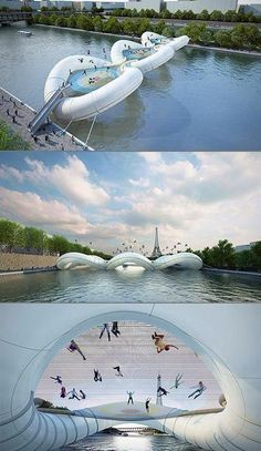 Twitter / Discoverypics: A trampoline-based bridge in ...