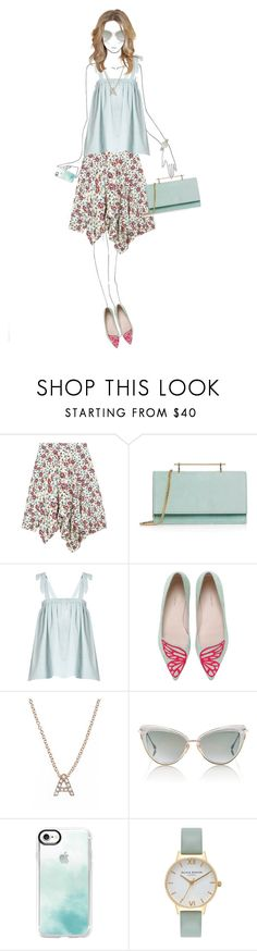 """""""#529"""" by rasa-j ❤ liked on Polyvore featuring Isabel Marant, M2Malletier, Loup Charmant, Sophia Webster, Bony Levy, Dita, Casetify, Olivia Burton and womensFashion"""