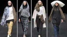 الحجاب في أسبوع طوكيو للموضة 2014 - منتديات غزل وحنين
