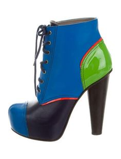 high heeled booties from polyvore.com