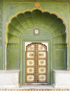 City Palace Complex in Jaipur as one of the main India sights | Indian travel
