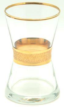 Lav Derin Yaldız Boyalı 6lı Çay Bardağı