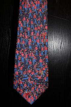 Where's Waldo necktie - From Schreter