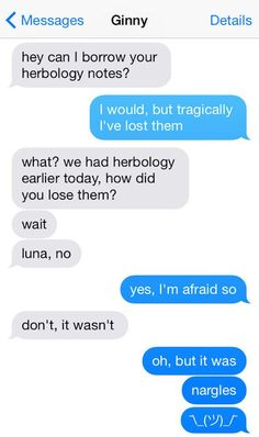 """12 Texts From The """"Harry Potter"""" Universe"""