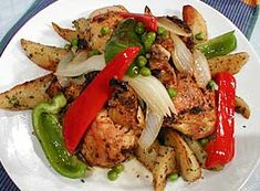 A plethora of copy cat restaurant recipes can be found here. Just click on the many choices in the right hand margin! This photo is a picture of Roast Chicken Vesuvio from Maggiano's. There's also breakfast and snack recipes from restaurants, too!