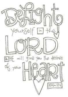 A beautiful sketch of a wonderful verse.