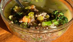 Recipe: Quinoa and Vegetable Soup | Greatist