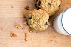 GF Peanut Butter Oatmeal Chocolate Chip Cookies