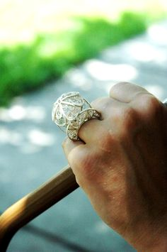 filigree ring  by Marcia Moscoso