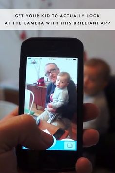 Get Your Kid to Actually Look at the Camera with This Brilliant App via @PureWow