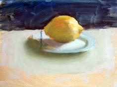 "Saatchi Art Artist Guido Mauas; Painting, ""Lemon"" #art"