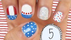 Nail Art for Fourth of July 2014: The Ultimate Guide [PART 2]