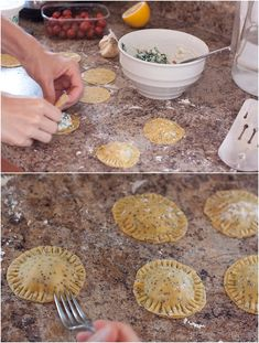 Homemade Einkorn Ravioli