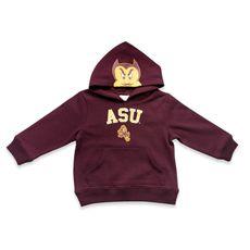 Mascot Pullover Hooded Sweatshirt - Arizona State University