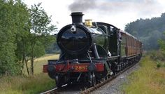 Severn Valley Railway - historically preserved line through English countryside