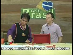 ARTE BRASIL -- MAMIKO YAMASHITA -- DÉCOUPAGE COM GUARDANAPO EM MDF (16/0...
