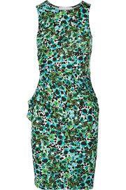 KainMariposa printed stretch-jersey dress