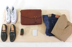10 essentials for college students. College Essentials, 10 Essentials, Teaching Mens Fashion, Gents Fashion, Men Style Tips, Watch V, College Students, What To Wear, Style Me