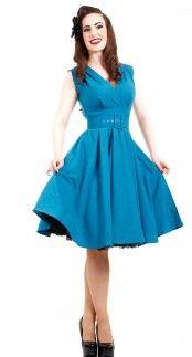 Heart of Haute Milan Dress in Blue